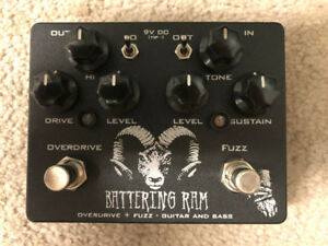 Wounded Paw Battering Ram Tube Screamer/Big Muff/Octave-up
