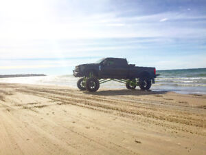 """2017 Ford F-350 40"""" tires lifted coil overs airbags !!!!!!!!!!!!"""