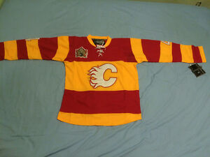 NEW Jay Bouwmeester Calgary Flames Heritage Classic jersey