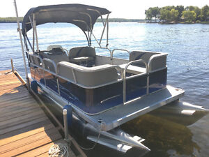 """New 14Ft & 16 Ft -  """" Compact Pontoon with a 4 Stroke Outboard """""""