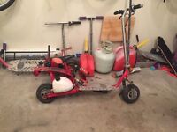 Two scooter one for parts or repair one runs fine