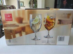 italian made water goblets 6