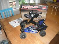 Fast 60mph Brushless R/C Buggy