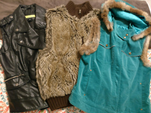 3 vests for $50 size S-M