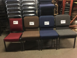 NEW Stackable Church Chairs