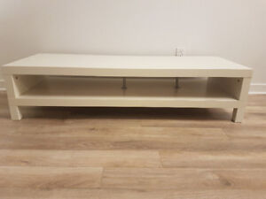 Meuble de TV blanc/TV bench
