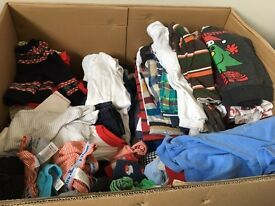 Large bundle of boys clothes
