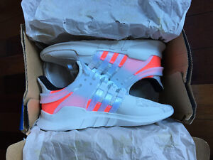 adidas EQT support ADV white turbo red shoes