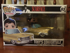 Scarface Funko Pop (Tony's Cadillac Convertible)