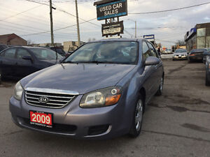 *LOW KMS*CERTIFIED*2009 Kia Spectra SX Sedan*2YRS WARRANTY*