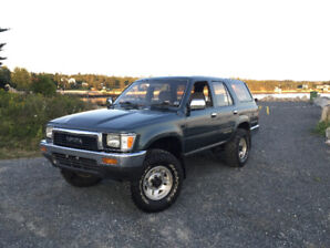 1990 Toyota Hilux Surf Turbo Diesel 4WD Low KM