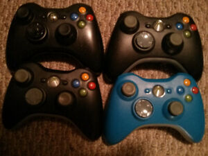 Wired & Wireless Xbox 360 Controllers