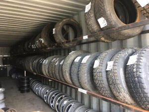 pneu et jantes usagee  used tires and rims