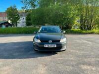 2013 Volkswagen Golf 1.6 TDI 105 S 5dr MK7 New Shape £0 tax DOLPHIN GREY HATCHBA