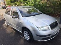 Skoda fabia htp only 1.2 litre petrol,low miles,long mot ,good condition