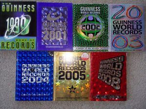 7 Guinness World Record books-Hard Cover London Ontario image 1