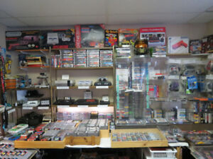 Video Games over 1000 to choose from inside Carson's Flea Market