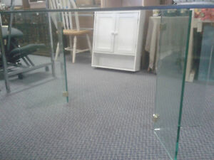 Glass Table 6' Great Condition at The Meetinghouse! Windsor Region Ontario image 3