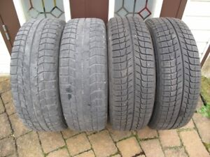 Winter tires Michelin X-ice 205/65/R15 94T + 5-hole rims