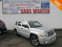 2008 (58) Jeep Patriot 2.0CRD Limited, FULL TWO TONE LEATHER