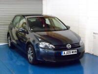 Volkswagen Golf 2.0TDI CR ( 140ps ) 2009MY SE Only 83K!