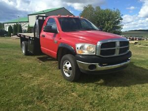 2007 Dodge Dsl 4x4 Dually Deck Truck Strathcona County Edmonton Area image 1