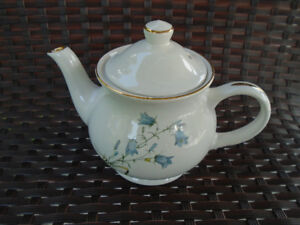 Vintage porcelaine Sadler - England théière +ensemble Honey bee