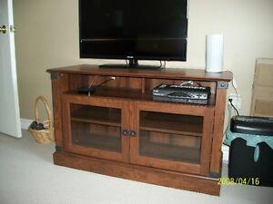 Redwood TV stand