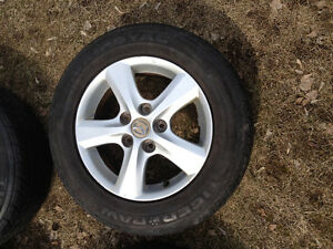 "15"" Mazda Rims - 5x114.3 Bolt Pattern"