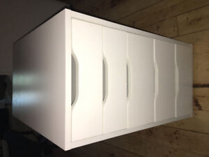 Drawer Unit - White - for sale