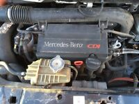 Mercedes Vito 638 engine and gearbox low mileage