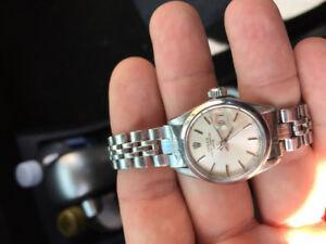 Rolex authentique femme ladies Automatic oyster perpetual date