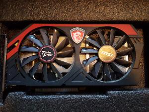 MSI Twin Frozr - Geforce GTX 750Ti Graphics Card For sale
