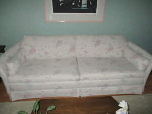 Mint condition Sofa, Love Seats & Picture