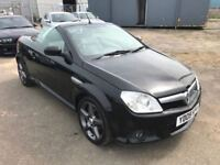 2009 Vauxhall Tigra Exclusive 1.4 Convertible + Full Stamped History + Heated Leather + Warranty