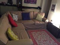 IKEA Ektorp corner sofa bed