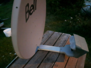 Shaw & bell satellite  dishes