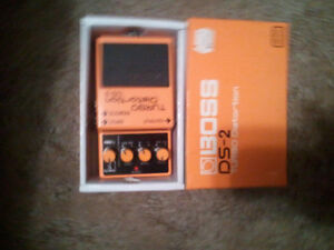 Boss DS-2 TurboDistortion  like new condition with Original box