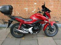 HONDA GLR 125 CB125F LEARNER MOTORCYCLE, EASY TO CHEAP TO RUN ULEZ COMPLIANT