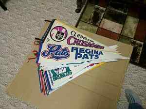 MISC WHA AND WHL PENNANTS