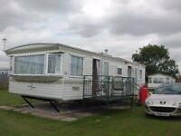 Caravan to let / rent in Ingoldmells, with beach access. 400 yards from fantasy island and butlins