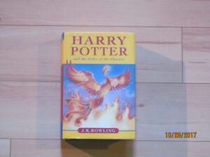 Hardcover Harry Potter and the Order of the Phoenix