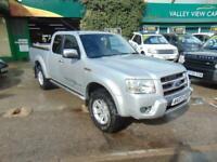 Ford Ranger 2007 4X4 DIESEL THUNDERTRACKdouble CAB FULL LEATHER NO VAT