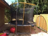 Trampoline 10ft used but in good condition £50