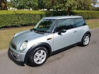 MINI ONE 1.6 HATCH - AUTOMATIC - 3 DOOR - 2005 - SILVER **LOW MILES**