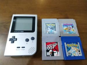Gameboy Pocket & Games