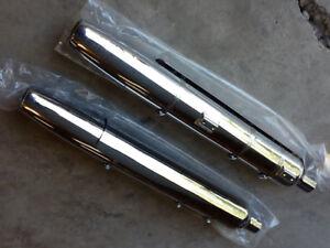 New never used chrome HD Sportser chrome mufflers $125.00