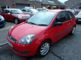 FORD FIESTA 1.2 style 2008 Petrol Manual in Red