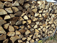 PREMIUM HARDWOOD FIREWOOD CUT & SPLIT $79 , MAPLE, OAK, ASH