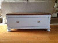 Lovely Old Wooden Chest with one drawer.